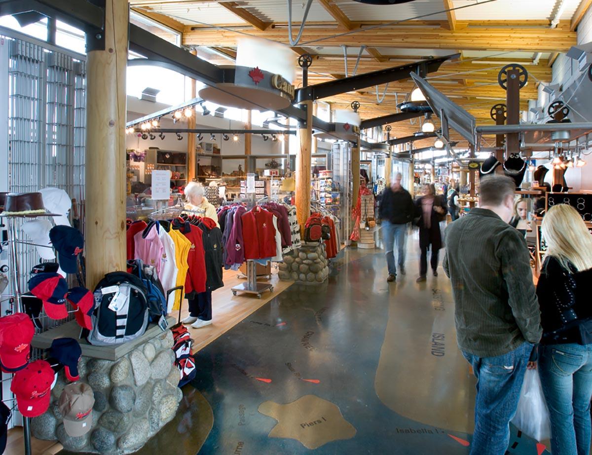 Tsawwassen Quay Market Interior